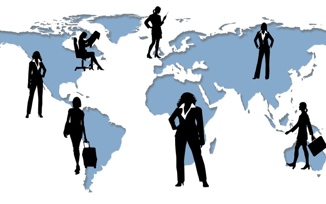 persons on world map